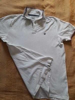 Фирменная футболка тениска crew clothing р.48-50 l фото №1