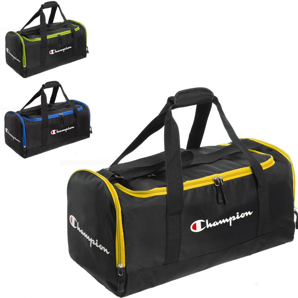 Сумка спортивная champion 1108 (сумка для спортзала): размер 52х23х26см (3 цвета) фото №1