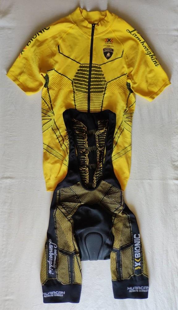 Велоформа x-bionic lamborghini. m l фото №1