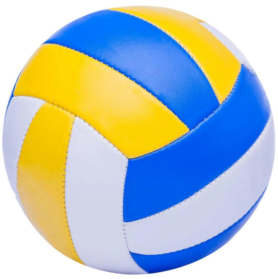 Игровой мяч волейбольный 896-1 полиуретан, с 3-мя слоями фото №1