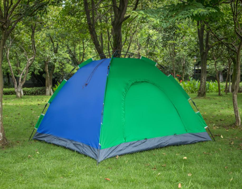 Палатка-автомат 2-х местная с автоматическим каркасом leomax фото №1