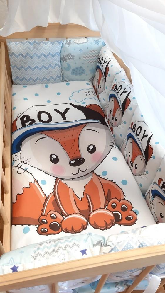 Детское постельное белье принт, полный набор! фото №1