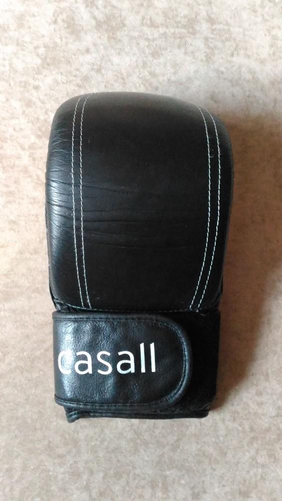 Боксёрская перчатка casall натуральная кожа, размер xl фото №1