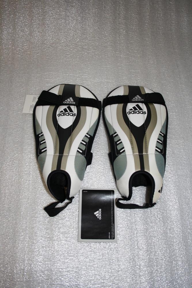 Футбольная защита щитки adidas team vuelo, m(8) размер фото №1