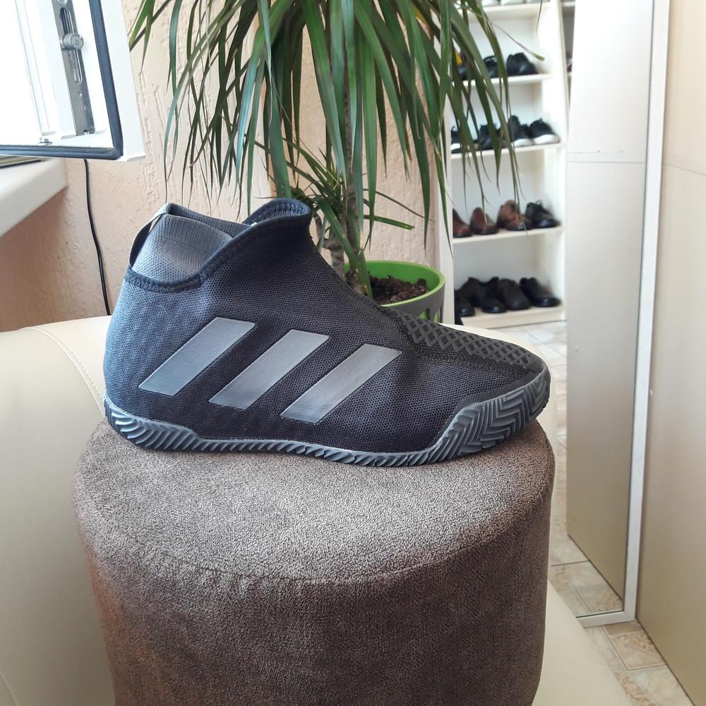 Кросівки для тенісу оригінал adidas stycon laceless clay fv2569 розмір 39 1/3 фото №1