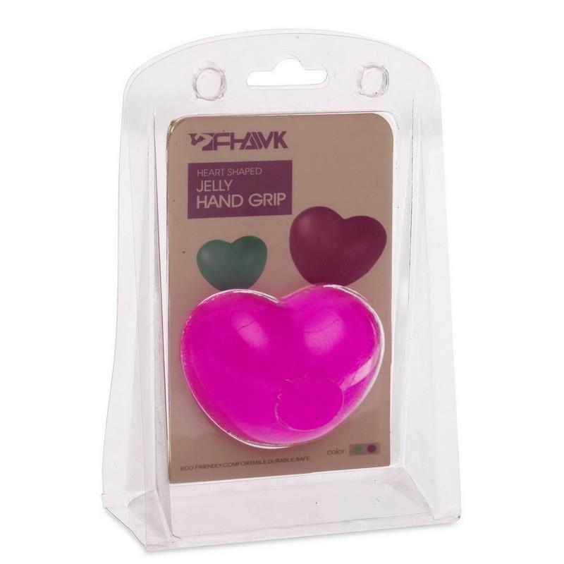 Эспандер кистевой гелевый для развития пальцев сердце jelly hand grip 1490 фото №1