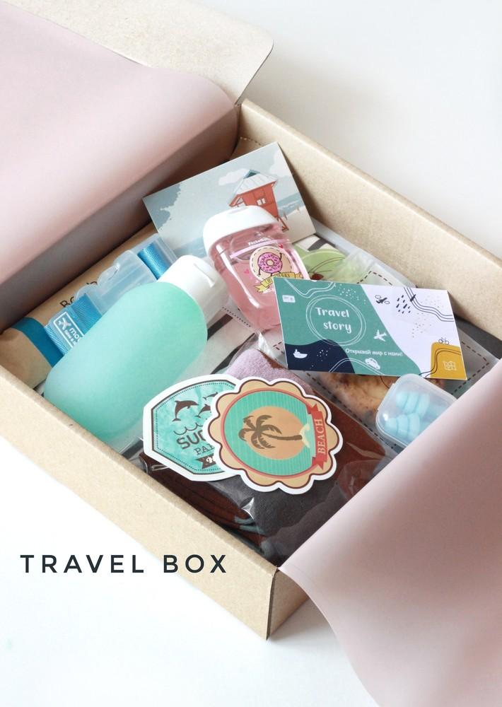 Подарочный набор для путешествия travel box 1 фото №1