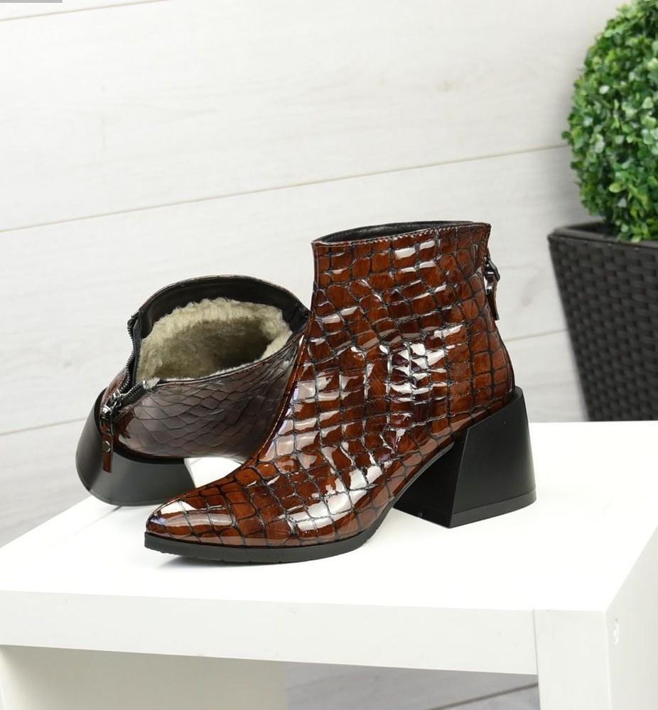 Зимние ботиночки натуральная кожа фото №1