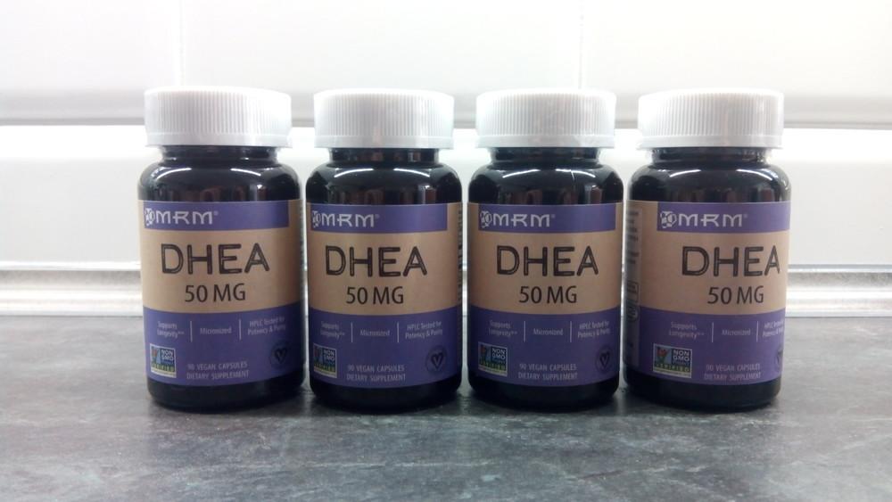 Mrm dhea, 90 капсул по 50 мг, бад, дегидроэпиандростерон, дг фото №1