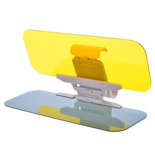 Антибликовый козырек для автомобиля hd vision visor фото №1