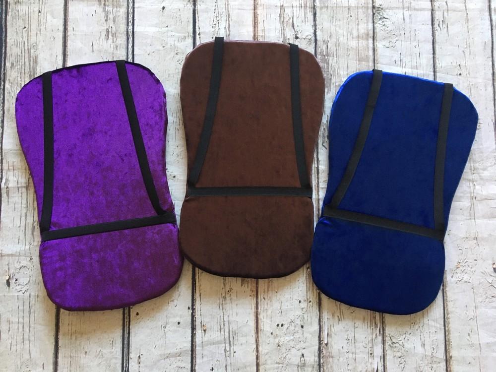 Подушка для гимнастики, подушка для растяжки, наспинник, черепашка фото №1
