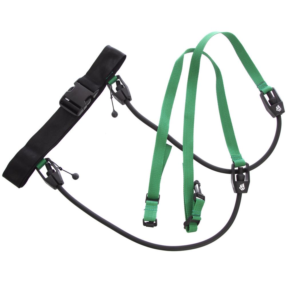 Поясной тренажер для плавания madwave stationary trainer 077401000: длина 1,1м фото №1