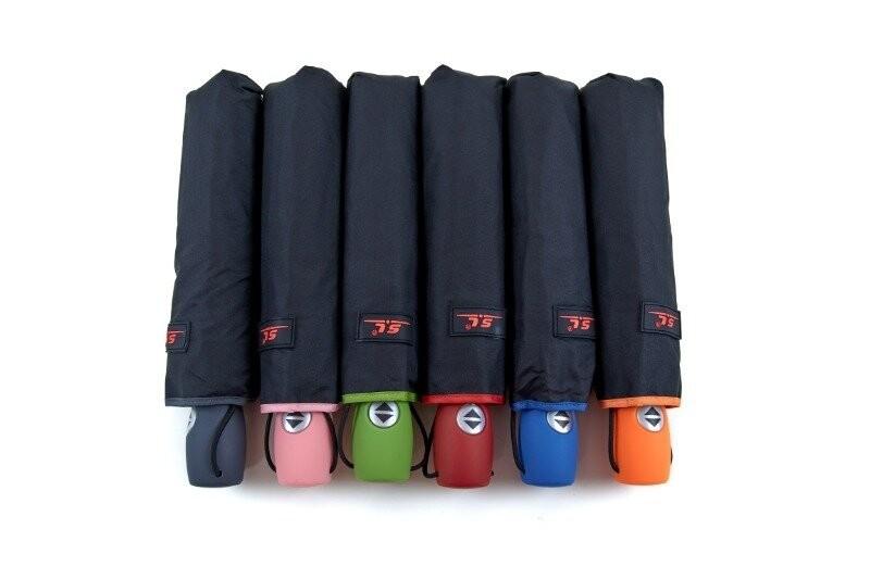 Подростковый школьный складной зонт автомат для мальчика и девочки фото №1