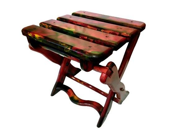 Раскладной стул ручной работы для дома, дачи, рыбалки, кемпинга, пикников. фото №1
