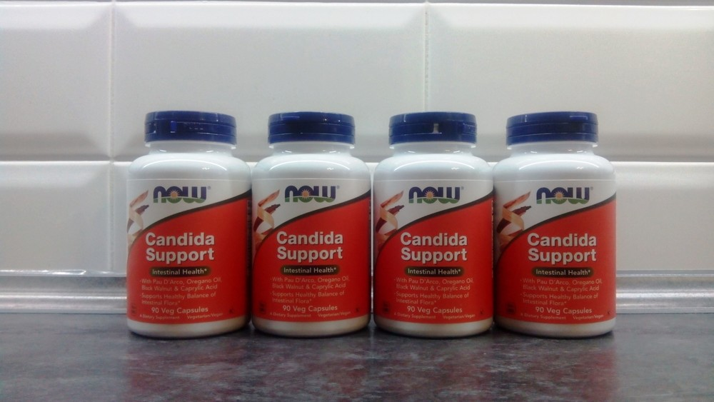 Now foods candida support (90 капсул), для пищеварения, от молочницы фото №1