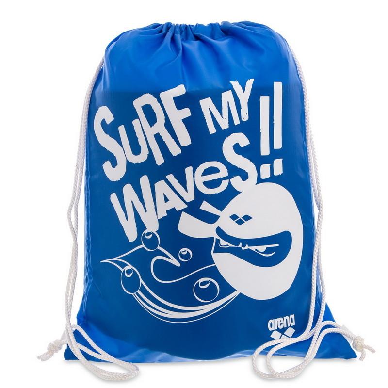 Рюкзак-мешок arena slogan sweembag surf 93586-16 (сумка мешок): размер 45х35см фото №1