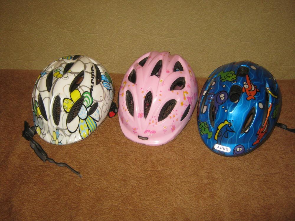 Детские велошлемы 45-50 см германия alpina abus фото №1