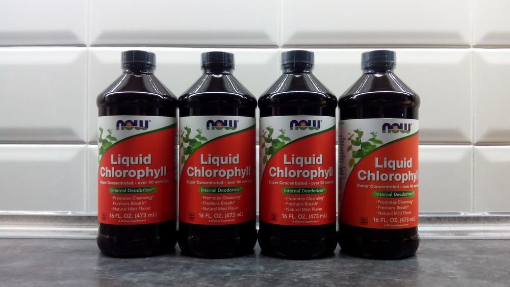 Now foods, хлорофилл жидкий, 473 мл = 95 порций, хлорофил, хлорофіл фото №1