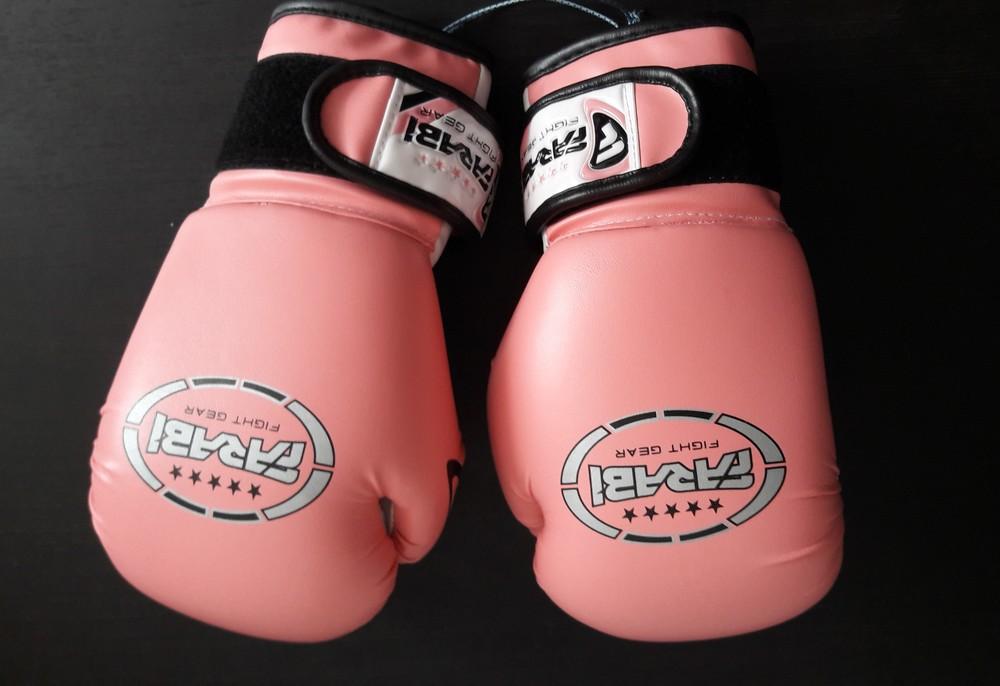 Боксерские перчатки farabi 6-oz фото №1