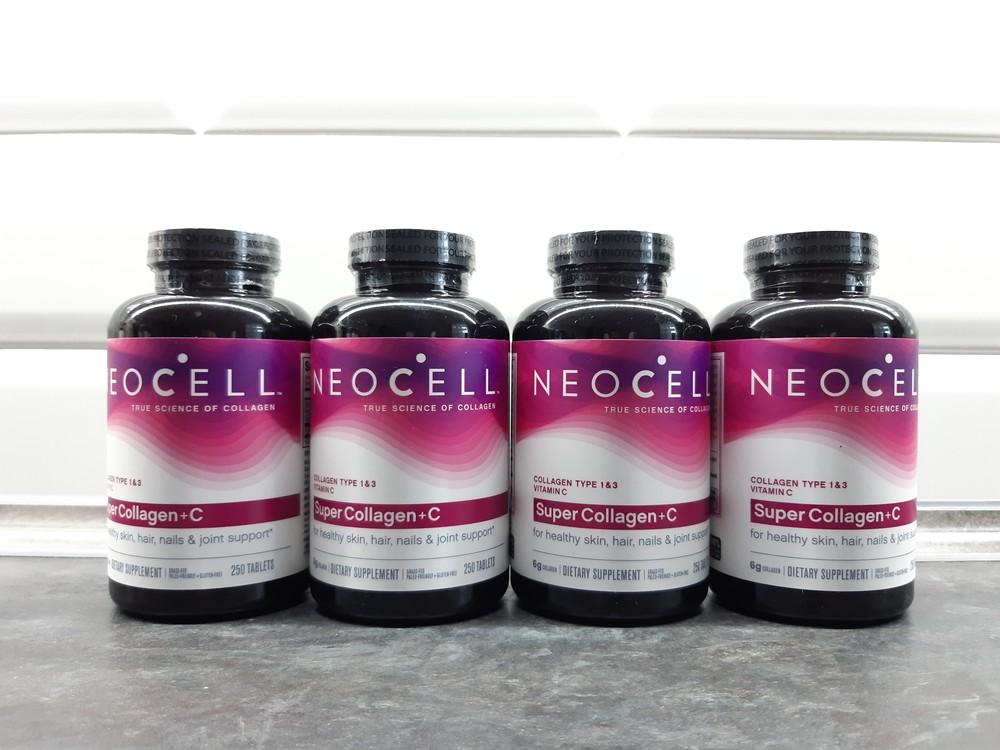 Neocell, super collagen+ c (250 таб.), коллаген тип 1 и 3 + витамин с фото №1
