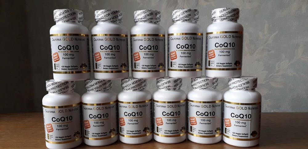 Cgn, коэнзим q10 (120 капс. по 100 мг), coenzyme для сердца фото №1