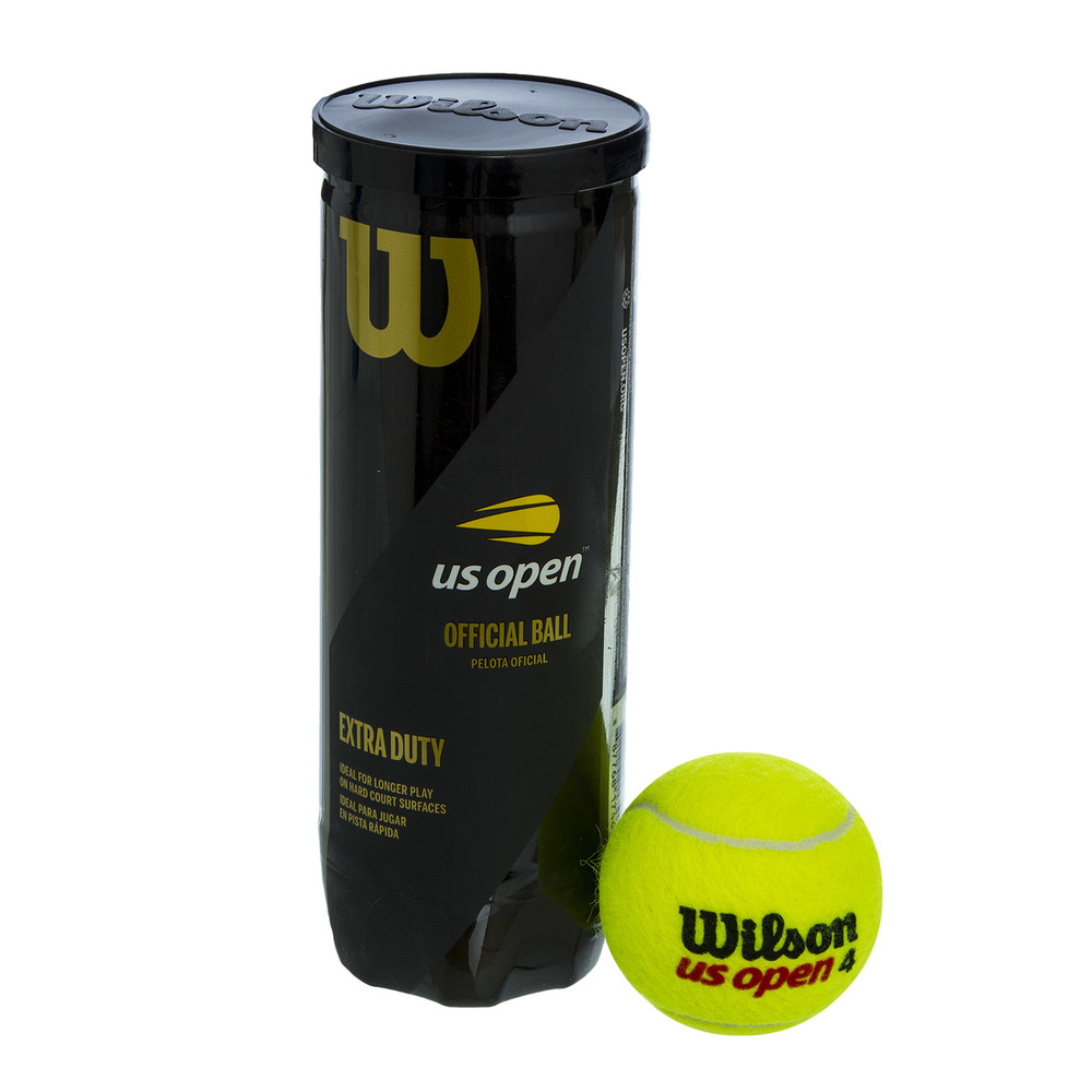 Мяч для большого тенниса wilson open extra duty 106200: 3 мяча фото №1