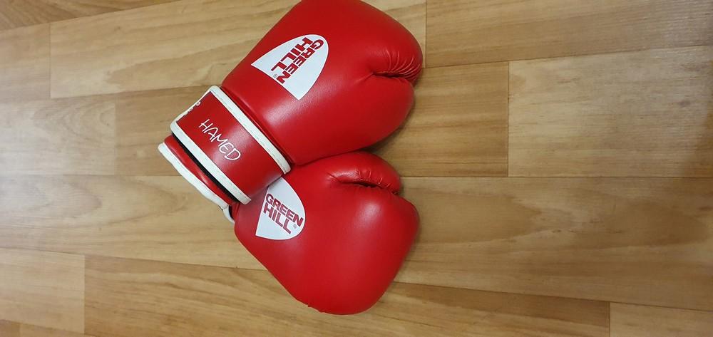 Боксёрские перчатки фото №1