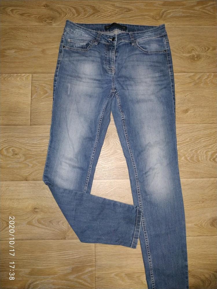 Р.12 фирменные стрейчевые джинсы на девушку фото №1