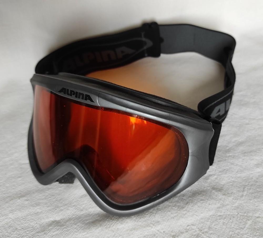 Горнолыжная маска лыжная alpina фото №1