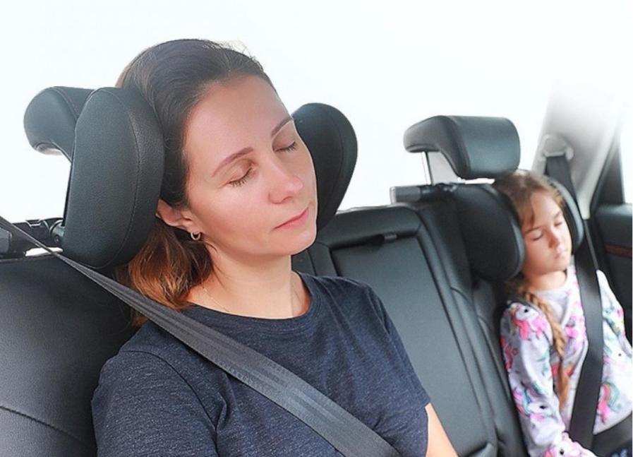 Подушка автомобильная car sleep headrest фото №1