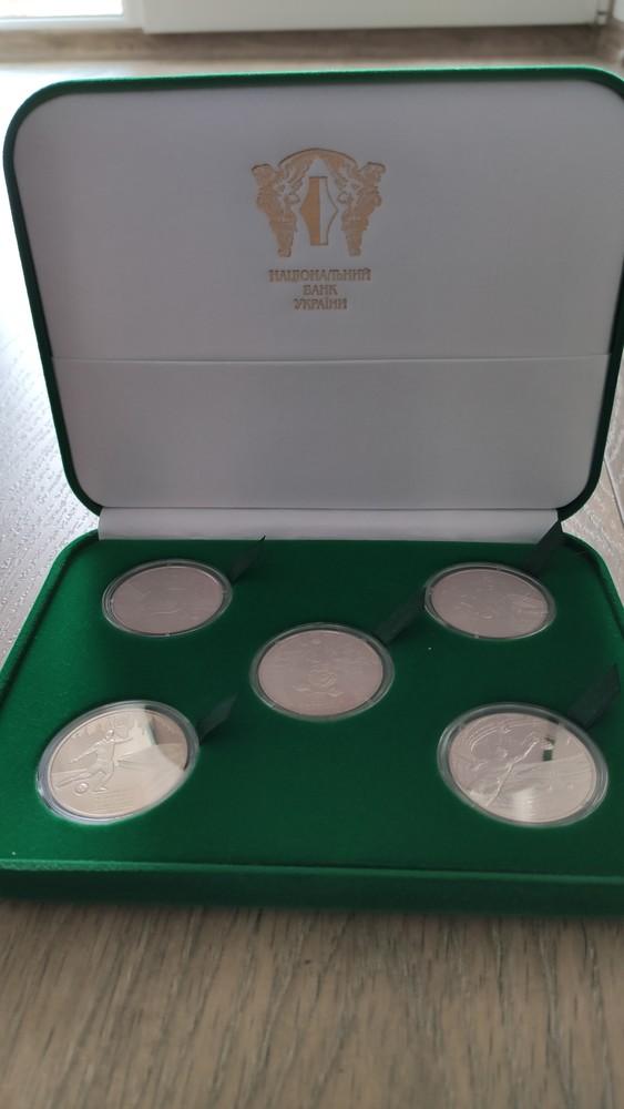 Набор монет нбу евро 2012 в футляре фото №1