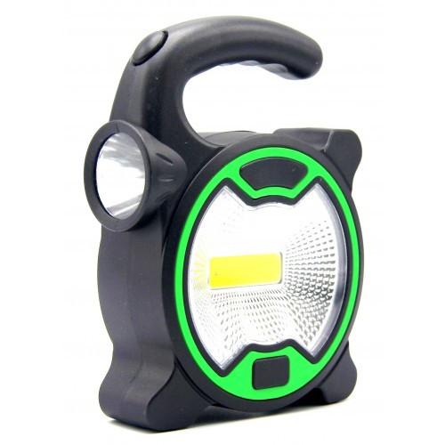 Кемпинговый фонарь cob t-915 универсальный фото №1