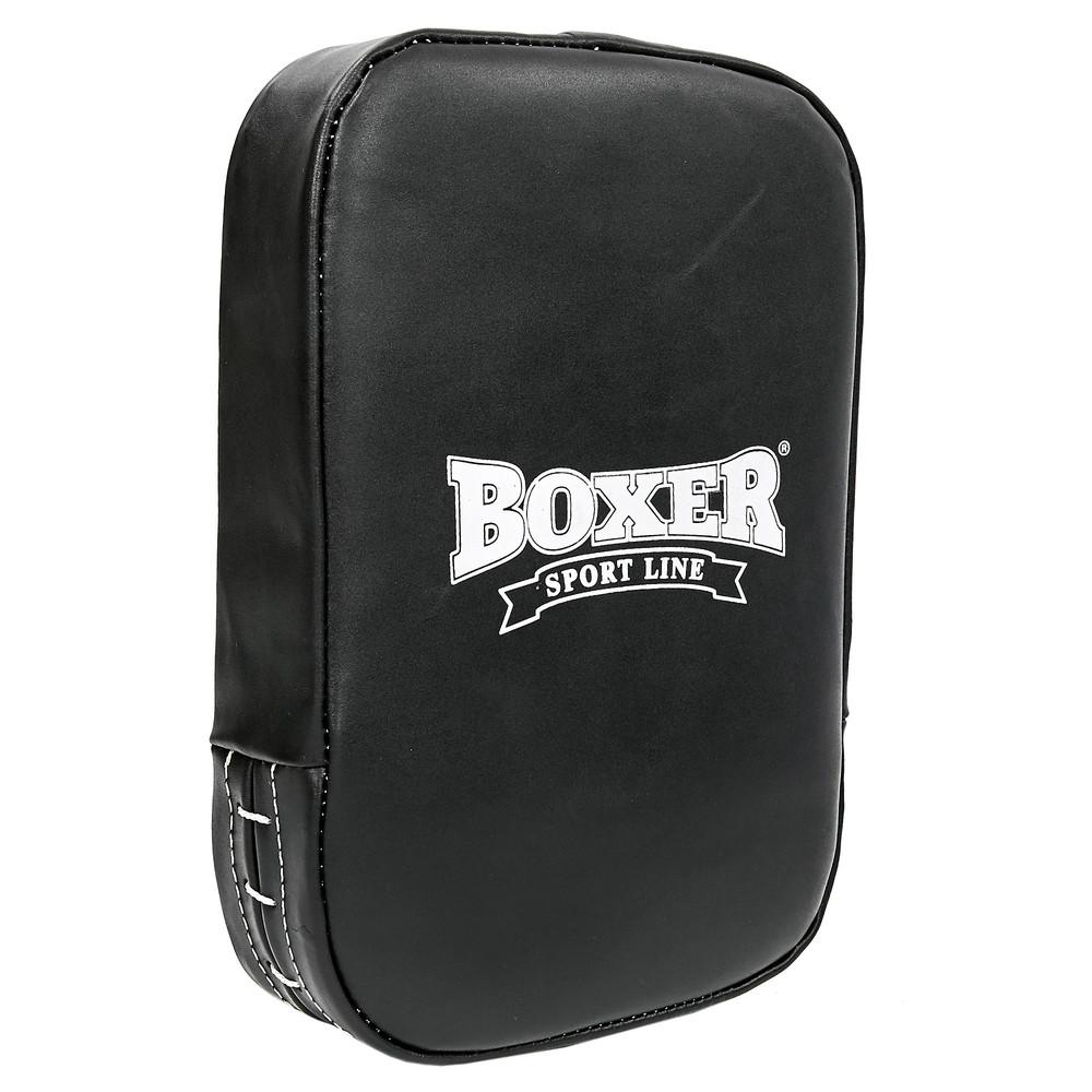 Макивара прямая кожаная малая boxer 1445-1: размер 45х30см (кожа) фото №1