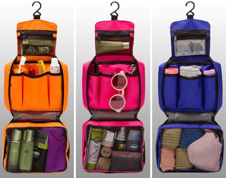 Органайзер косметичка сумочка для путешествий active travel дорожный с крючком фото №1