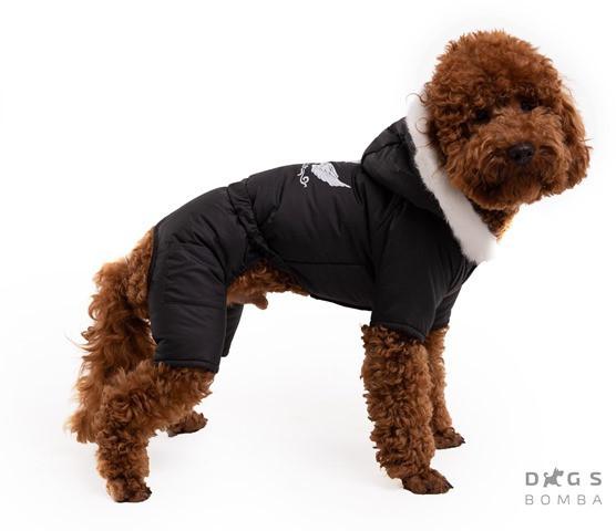 Одежда для собак зимний комбинезон на синтепоне унисекс фото №1