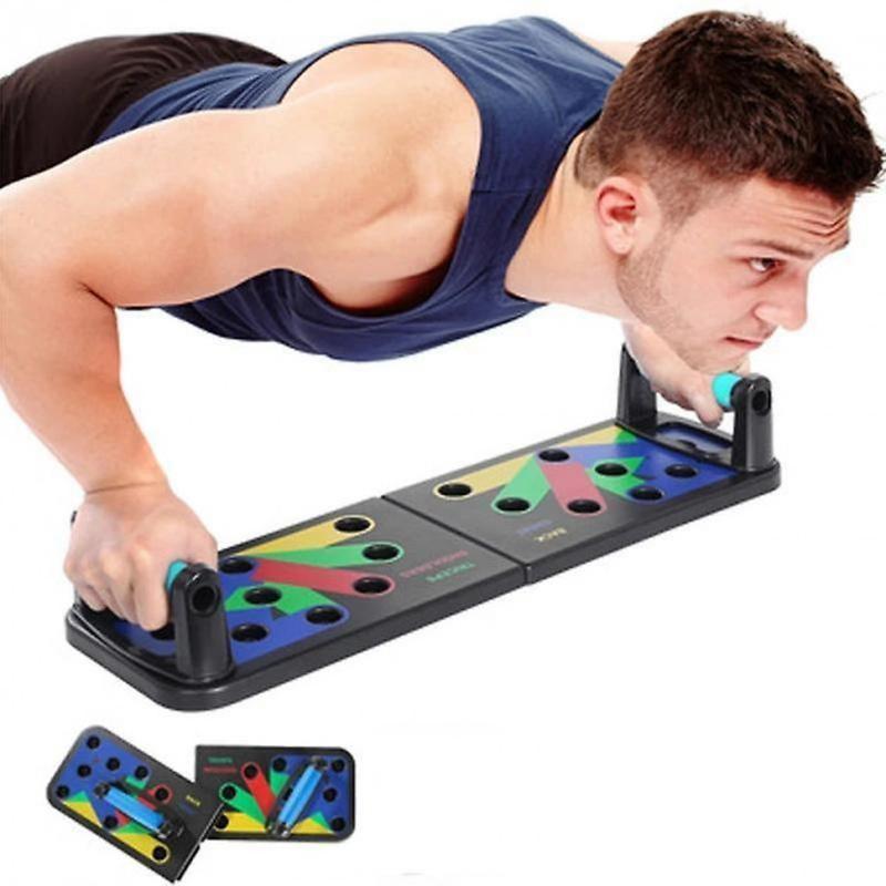 Платформа для отжиманий foldable push up board jt-006 тренажер фото №1