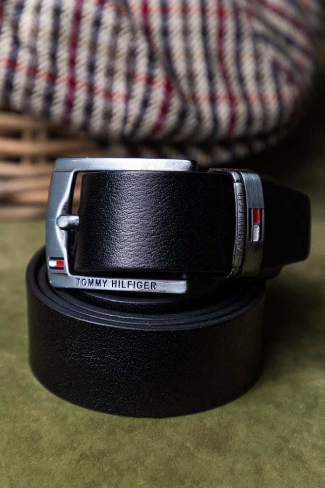 Модный кожаный стильный ремень бренд о-220 фото №1