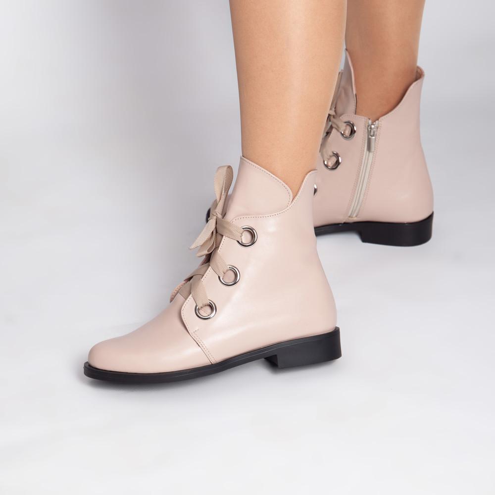 Демисезонные кожаные ботинки в размерах! фото №1