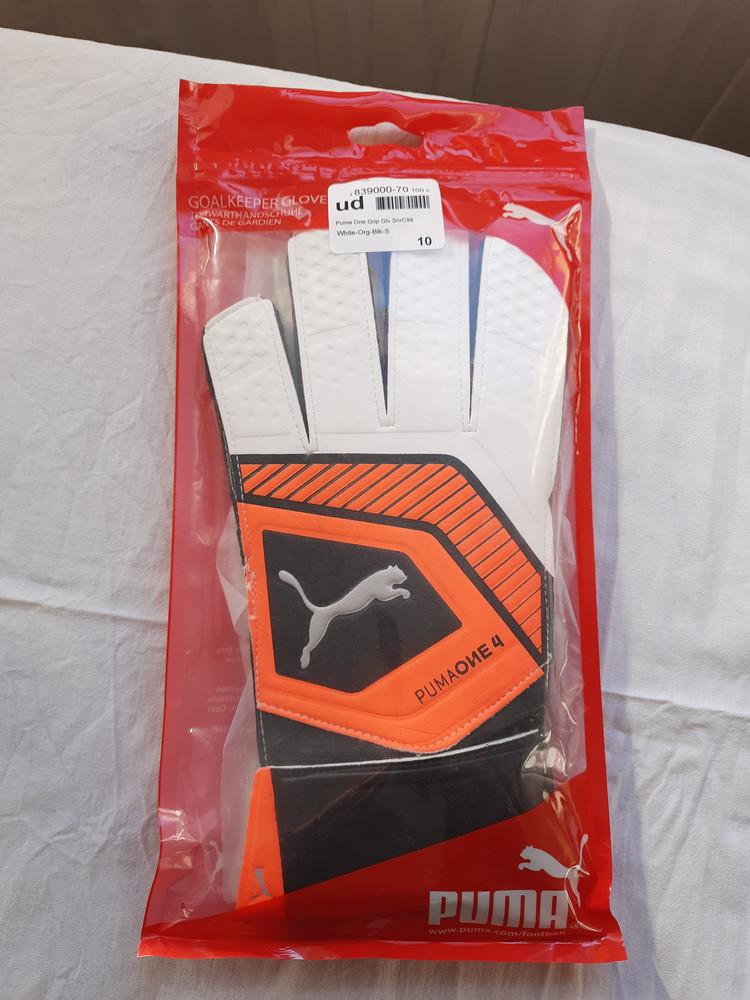 Вратарские перчатки puma one grip р10 фото №1