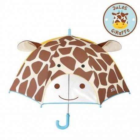Уценка (дефекты)! детский зонтик. жираф. skip hop zoo. фото №1