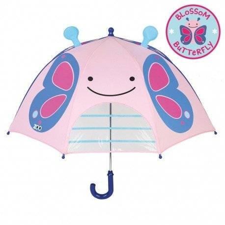 Уценка (дефекты)! детский зонтик. бабочка. skip hop zoo. фото №1