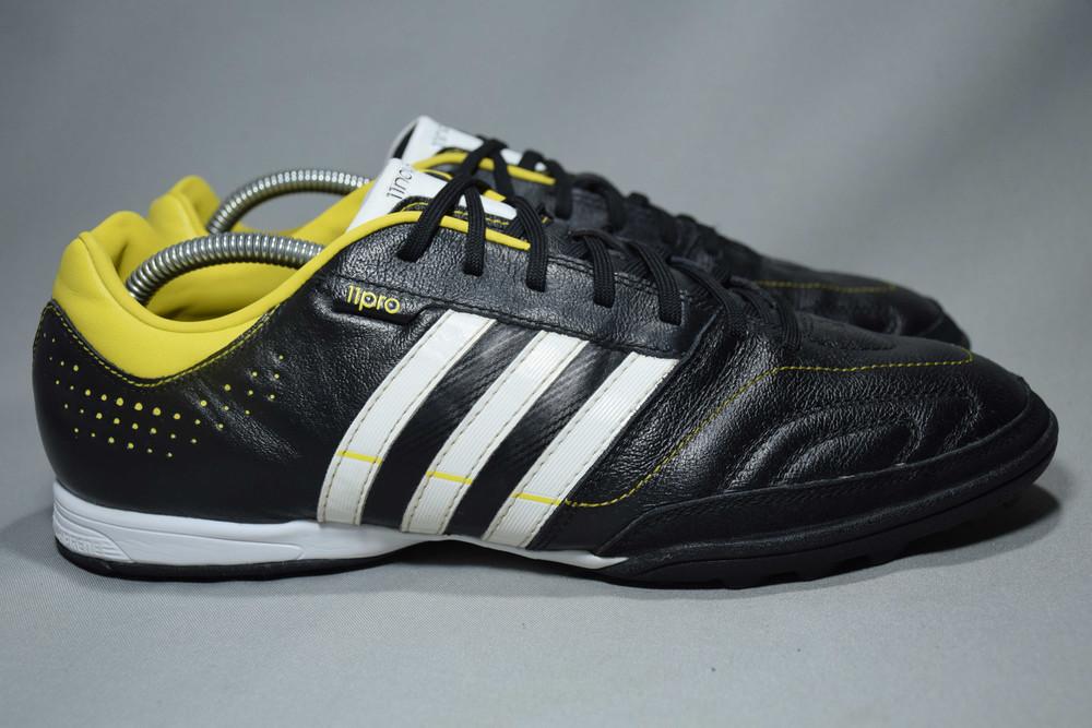 Adidas 11nova trx tf сороконожки шиповки бутсы мужские кожаные. оригинал. 44 р./28 см. фото №1