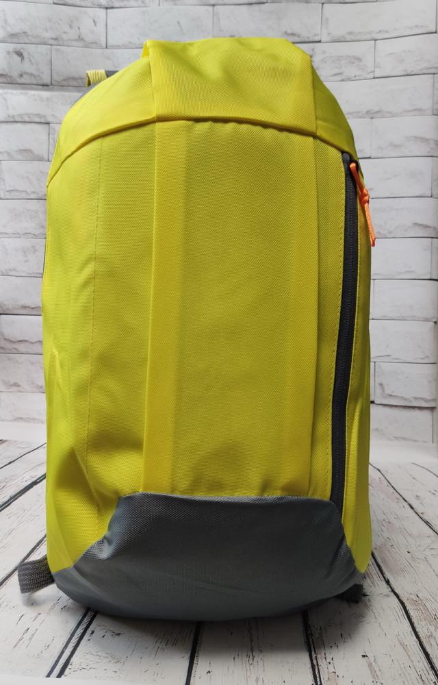 Городской спортивный рюкзак желтый 10 л. фото №1