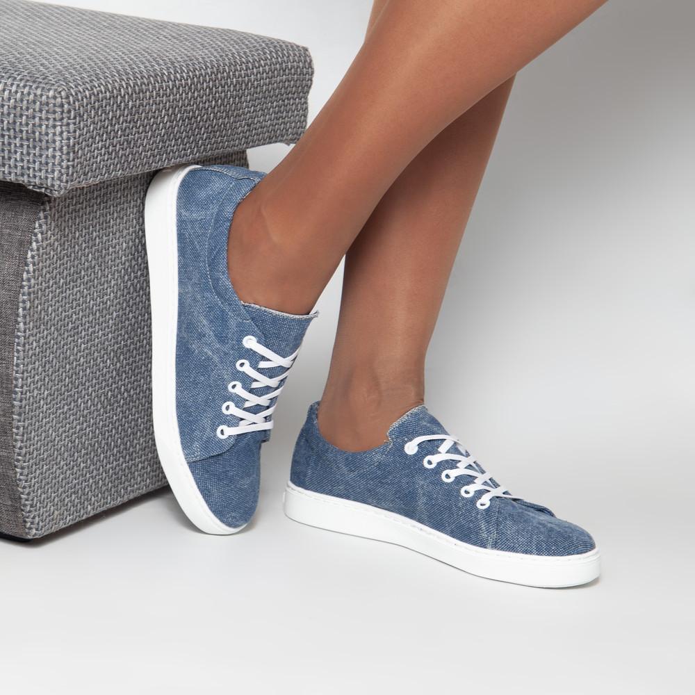 Натуральные текстильные джинсовые кеды в наличии! фото №1
