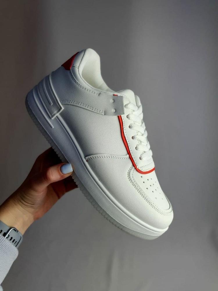 Кроссовки белые под бренд ❤️ (1250) фото №1