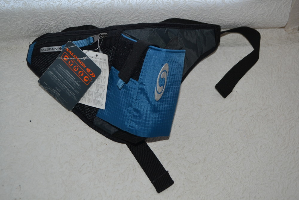Новый гидро сумка пояс для бега воды salomon фото №1