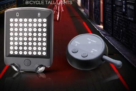 Задний фонарь с поворотником и лазерной разметкой фото №1