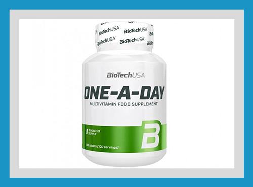Витаминно-минеральный комплекс biotech one a day 100 таблеток usa фото №1