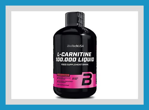 Жиросжигатель л- карнитин biotech l-carnitine 100 000 liquid 500 мл фото №1