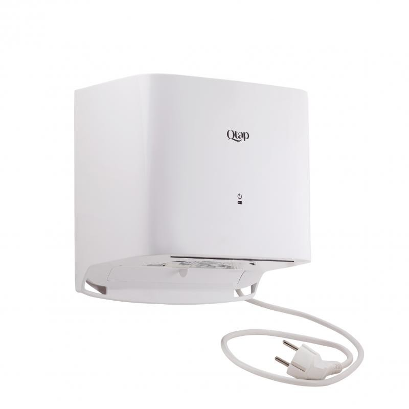 Електросушарка для рук автоматическая 1000 вт белая qtap сушилка для рук фото №1